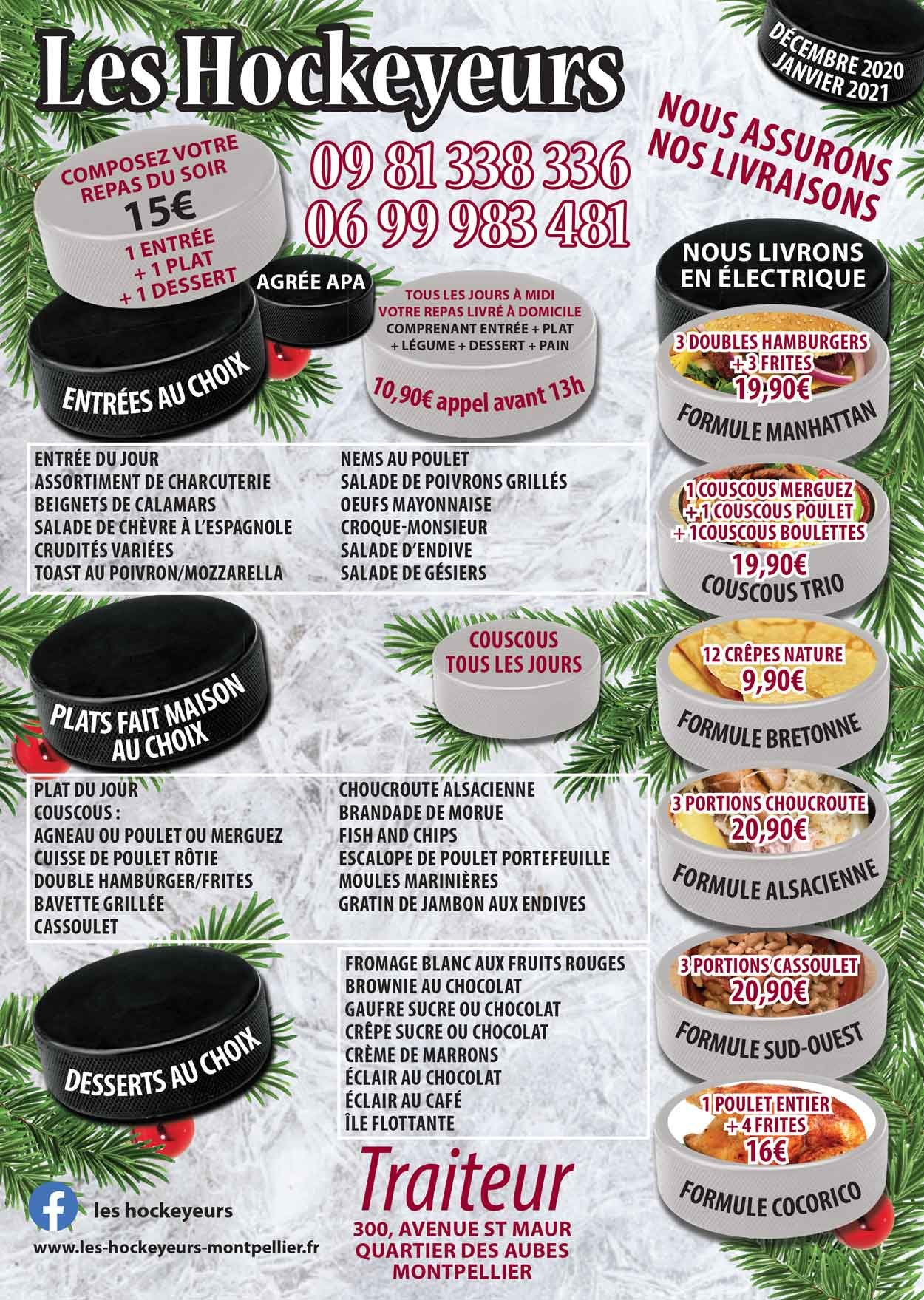 livraison repas clic & collect montpellier